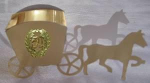 Pferdewagen zur Goldenen Hochzeit Bastelarbeit