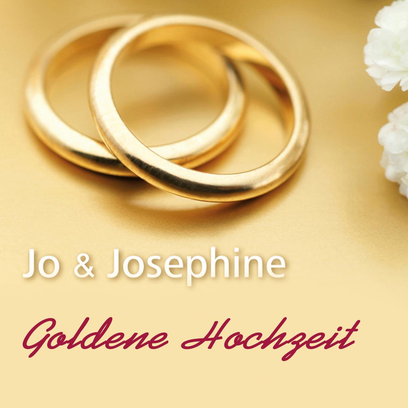 Cover Lied Wünsche zur Goldenen Hochzeit mit goldenen Ringen